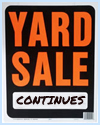 Yard Sale Continues