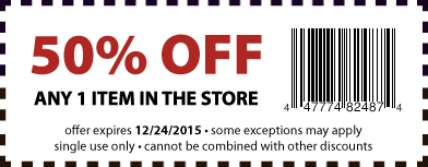 50% OFF Coupon