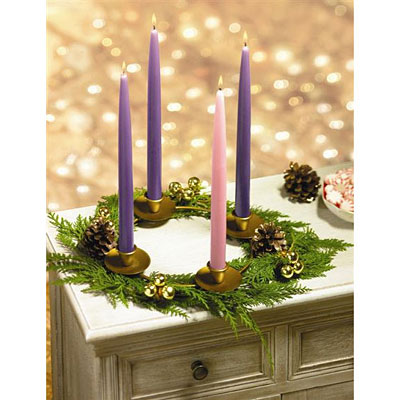 Colonial Candle Advent Set