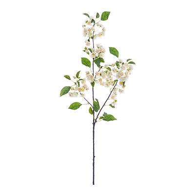 Apple Blossom Spray - White