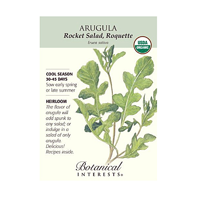 Seeds - BI Arugula Rocket Salad Org