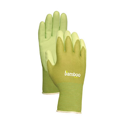 Bellingham Bamboo Glove with Rubber Palm - Green