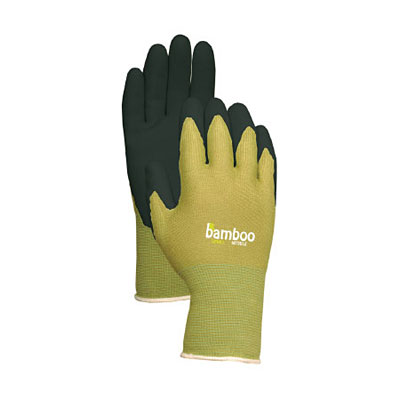 Bellingham Bamboo Glove with Nitrile Palm - Green