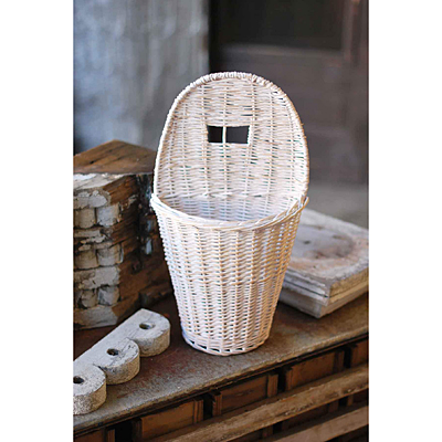 Basket - Willow White