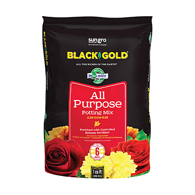 SunGro Black Gold All Purpose Potting Mix