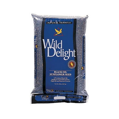 Wild Delight Premium Grade Black Oil Sunflowers