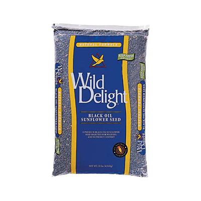 Wild Delight Black Oil Sunflower Bird Seed