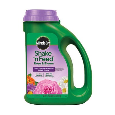 Miracle-Gro Shake 'n Feed Rose & Bloom