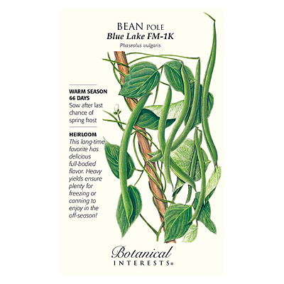 Seeds - BI Bean Pole Blue Lake