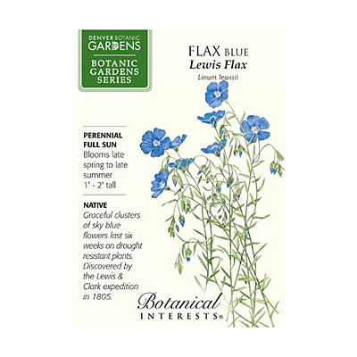 Seeds - BI Flax Blue Lewis