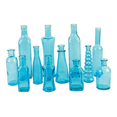 Bottle - Vintage Blue
