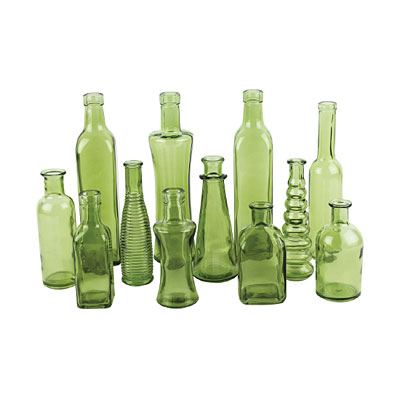 Bottle - Vintage Small - Green