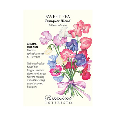 Seeds - BI Sweet Pea Bouquet Blend