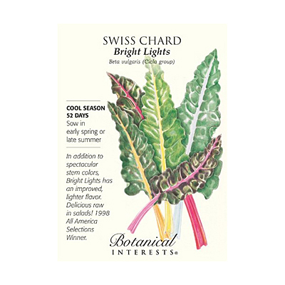 Seeds - BI Swiss Chard Bright Lights