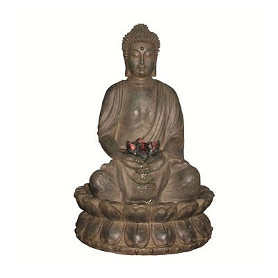 Fountain - Buddha in Lotus Flower
