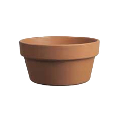 German Bulb Pan - Terracotta
