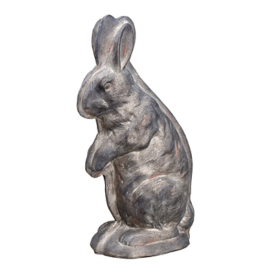 Bunny Chocolate Mold - Antique Pewter