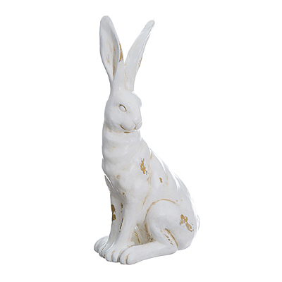 Bunny - White Antique