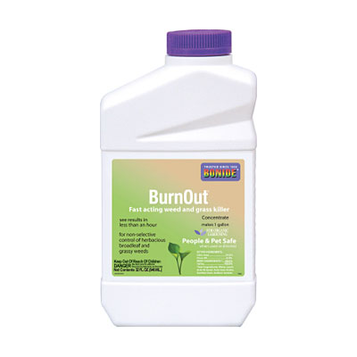 Bonide Burn Out Weed & Grass Killer - Concentrate