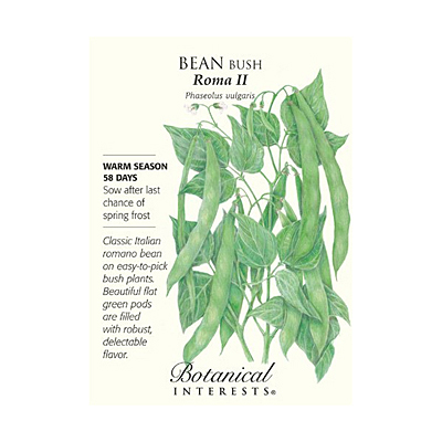 Seeds - BI Bean Bush Roma II