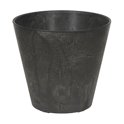 Novelty Cali Round Planter - Black