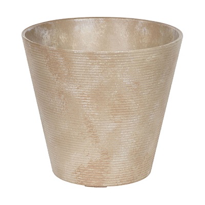 Novelty Cali Round Planter - Taupe