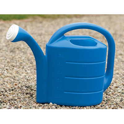 Novelty Deluxe Watering Can - Bright Blue