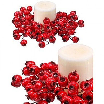 Candle Ring - Crabapple Berry