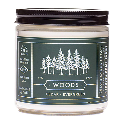 Candle - Woods, Soy