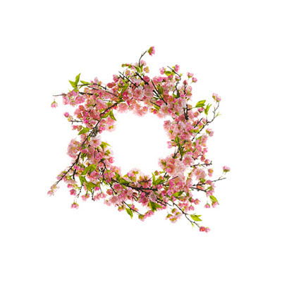 Wreath - Cherry Blossom Pink Two Tone