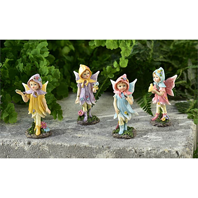Polyresin Fairy Child Figurine