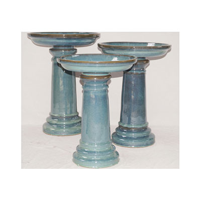 Bird Bath Classic - Light Blue