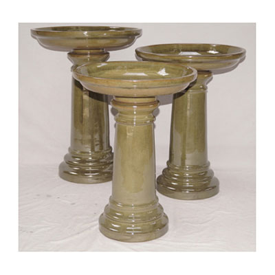 Bird Bath Classic - Light Green