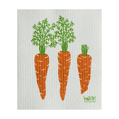 Swedish Dish Cloth - Carrot
