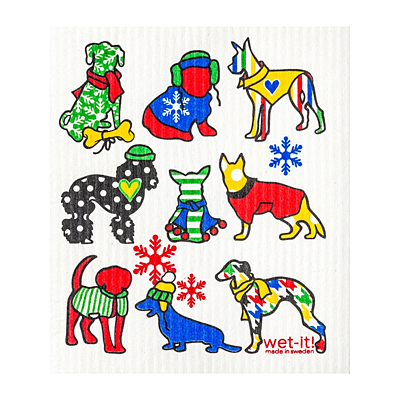 Swedish Dish Cloth - Cold Dogs