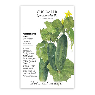 Seeds - BI Cucumber Spacemaster