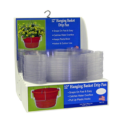 Hanging Basket Drip Pan