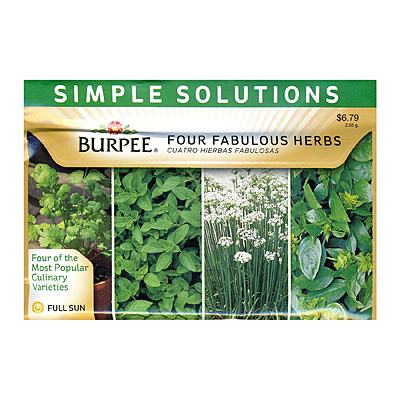 Seeds - Simple Solutions 'Four Fabulous Herbs'