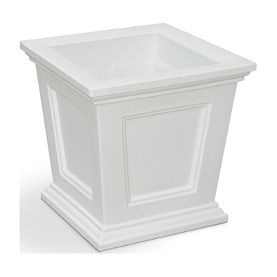 Mayne Fairfield Planter - White