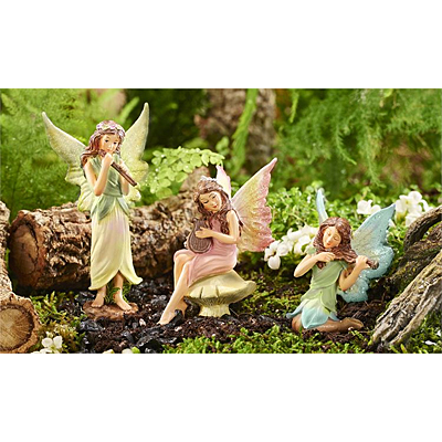 Mini World Classic Fairies Music Figurine