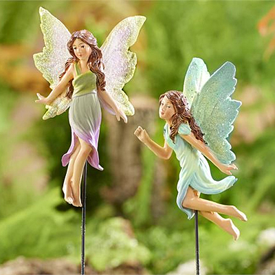 Mini World Classic Fairies Fairy Garden Pick