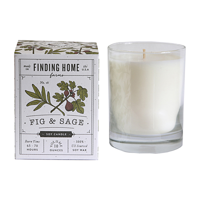 Candle - Fig & Sage, Soy