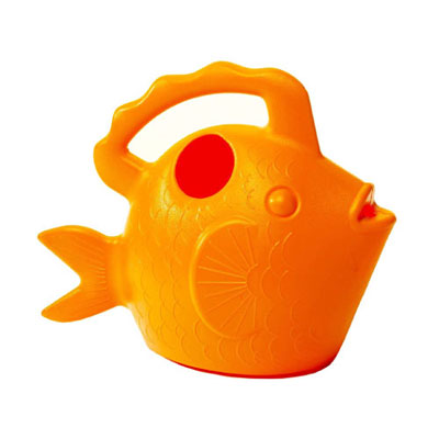 Novelty Watering Can - Orange Fish