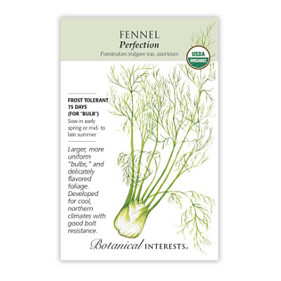 Seeds - BI Fennel Florence Perfection Org