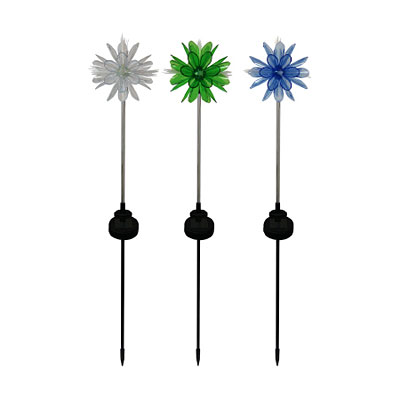LED Solar 3D Flower light