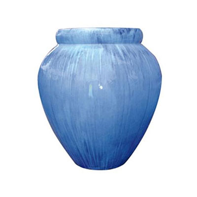 Fountain - Wide Top Jar - Sky Blue