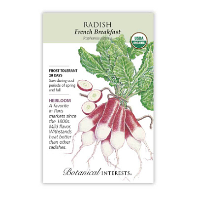 Seeds - BI Radish French Breakfast Org