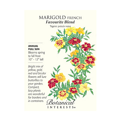 Seeds - BI Marigold French Favourite Blend