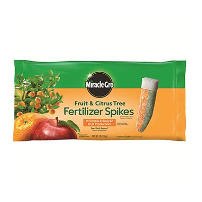 Miracle-Gro Fruit & Citrus Tree Spikes 12 pk