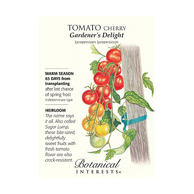 Seeds - BI Tomato Cherry Gardener's Delight